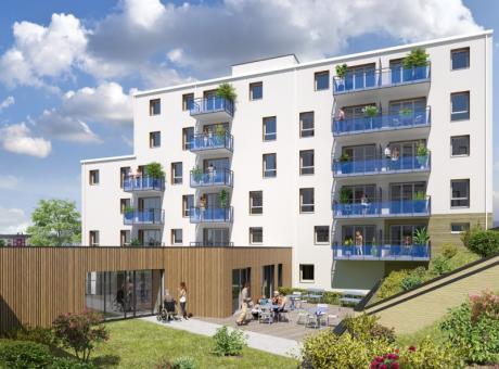 LAVAL (53) - ZAC Grande Vitesse - Ilot 2 - Residence Seniors et Services